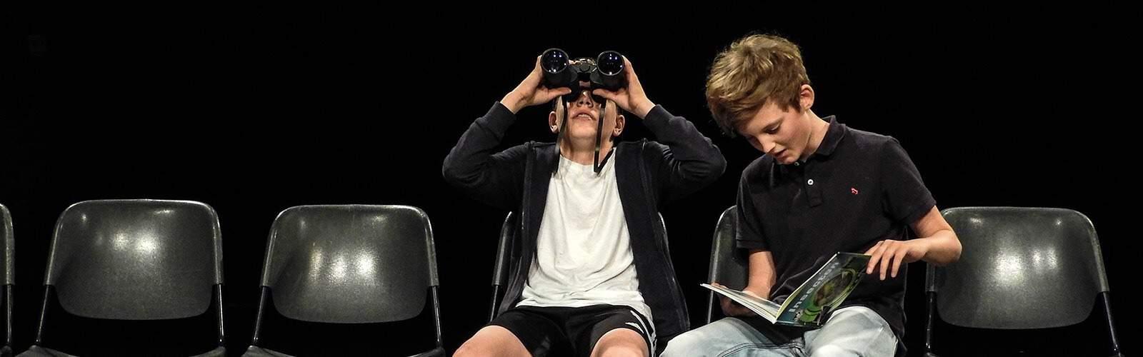 Opleidingsprogramma Lesgroepen De Noorderlingen vooropleiding theater en theaterhuis voor jong talent